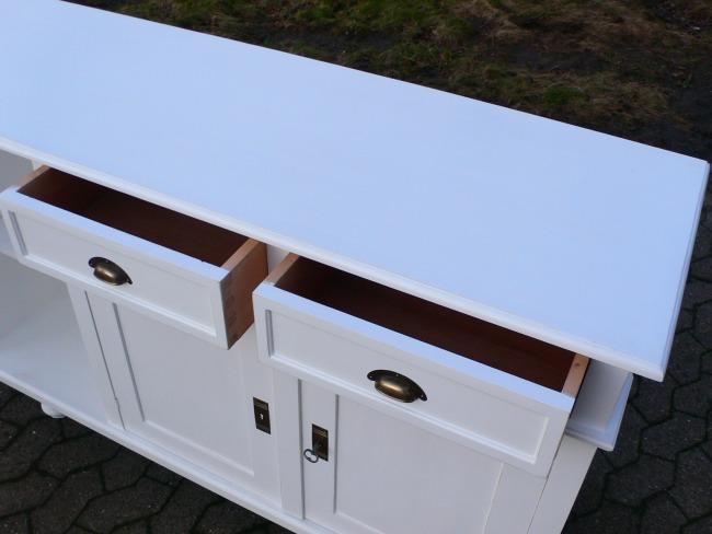 Theke Verkaufstheke Sideboard Highboard Kommode Anrichte Landhaus ...