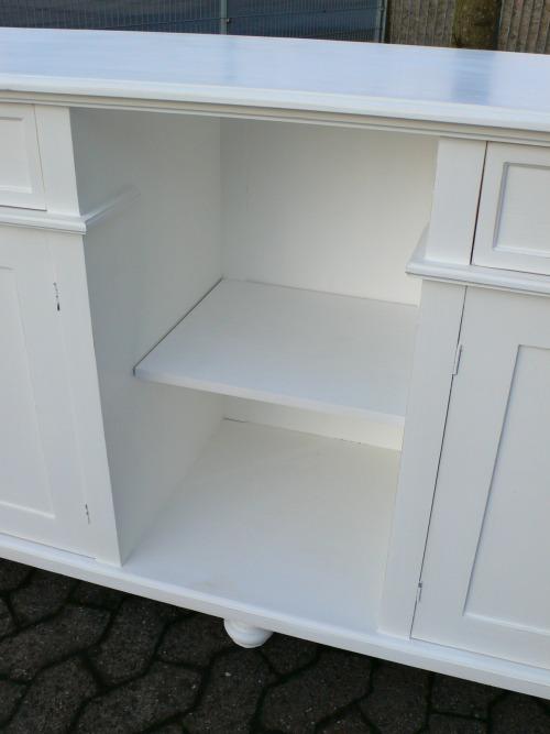theke verkaufstheke sideboard highboard kommode anrichte landhaus stil wei nr 401337869845. Black Bedroom Furniture Sets. Home Design Ideas