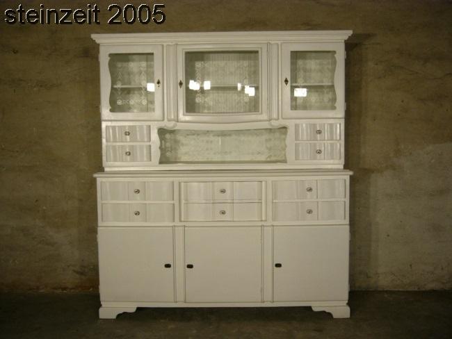 Buffet Art Déco antik weiß einmalig Designstück um 1930 Jhd.