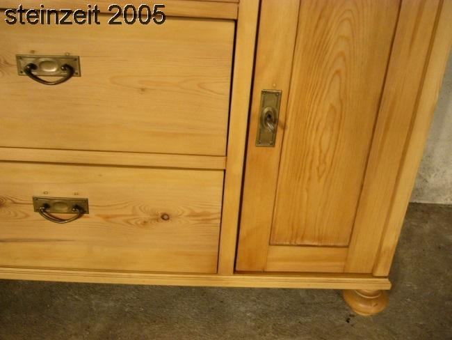 Kommode Weichholz Jugendstil antik Schubladen Schrank um 1900  antikde -> Kommode Antik Weichholz
