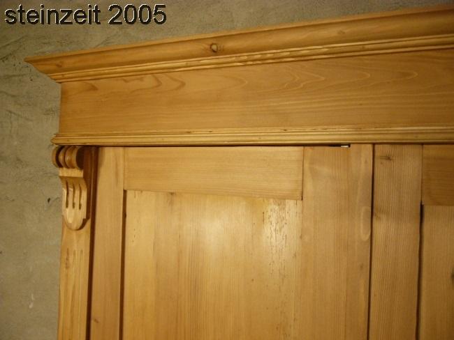 Schrank Antik Kleiderschrank Weichholz Grnderzeit Um 1900 2