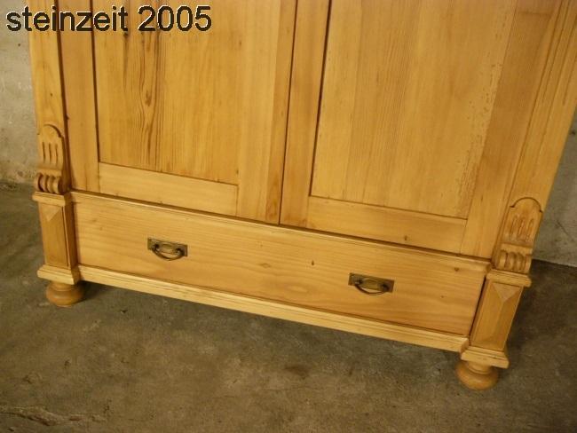 Schrank Antik Kleiderschrank Weichholz Grnderzeit Um 1900 5