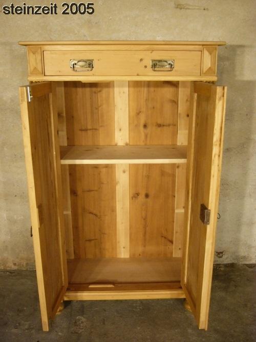 vertiko gr nderzeit weichholz antik sehr sch n schrank um 1900 nr 401363801469 oldthing. Black Bedroom Furniture Sets. Home Design Ideas