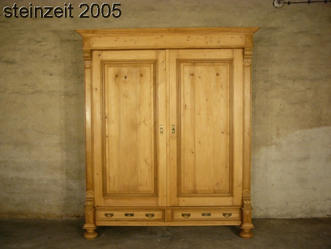 berliner gr nderzeit s ulen schrank aus eiche gefertigt um 1900 antik kolosseum nr. Black Bedroom Furniture Sets. Home Design Ideas