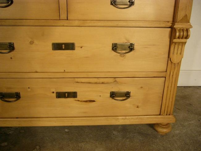 kommode gr nderzeit weichholz schubladen antik anrichte um. Black Bedroom Furniture Sets. Home Design Ideas