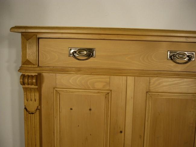 vertiko gr nderzeit weichholz antik schrank kommode um. Black Bedroom Furniture Sets. Home Design Ideas