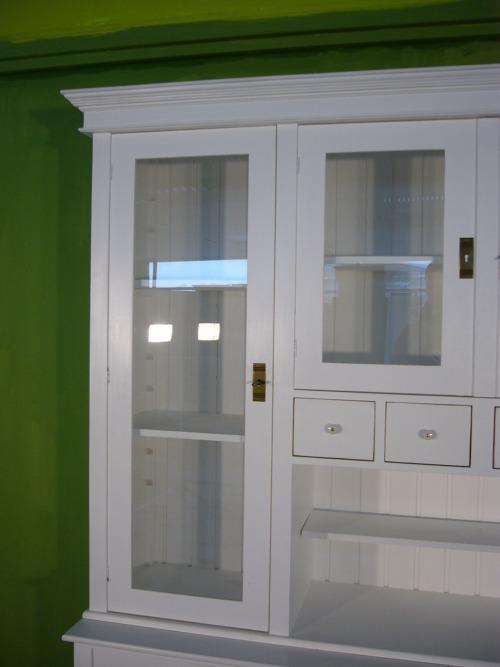 ladenwand wohnzimmer schrank wand vitrine im shabby look. Black Bedroom Furniture Sets. Home Design Ideas