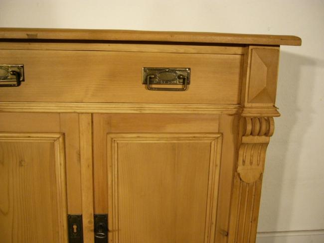 Kommode Sideboard Weichholz 2 türig antik Schrank um 1900 Jhd.