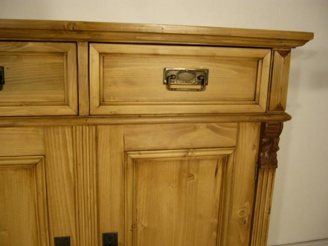 Anrichte Sideboard Weichholz Theke Kommode Kasten Ladenschrank 1