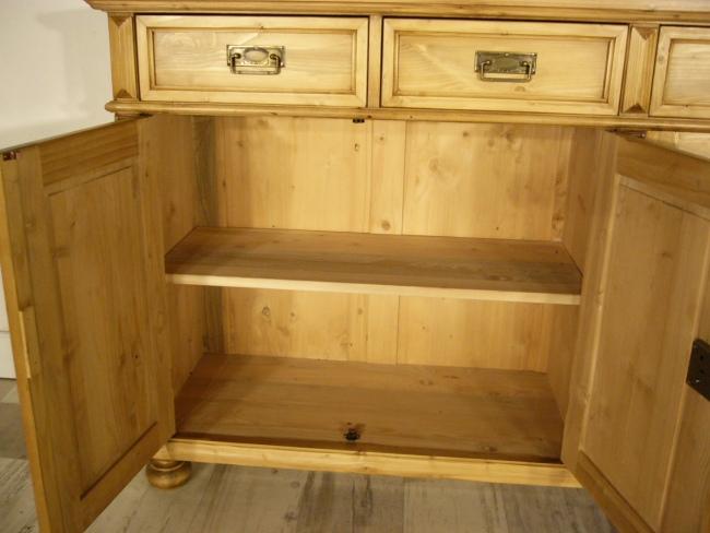Anrichte Sideboard Weichholz Theke Kommode Kasten Ladenschrank 10