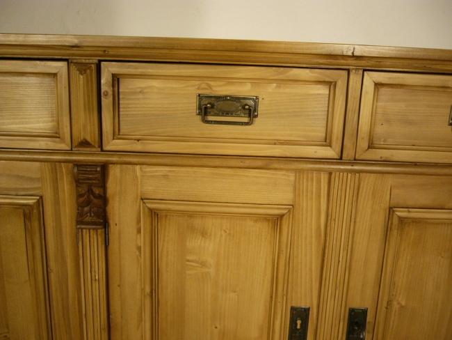 Anrichte Sideboard Weichholz Theke Kommode Kasten Ladenschrank 2