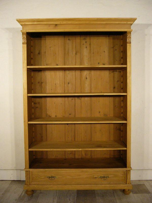 Regal Weichholz Schrank antik sehr schön Bücherregal um 1900 Jhd.