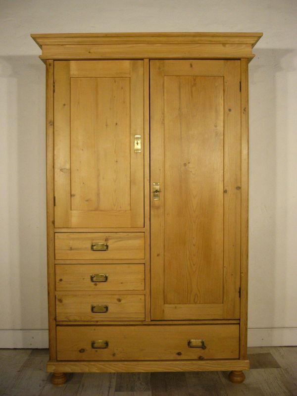 schrank super praktisch jugendstil weichholz antik kommode kasten um 1900 jhd. Black Bedroom Furniture Sets. Home Design Ideas