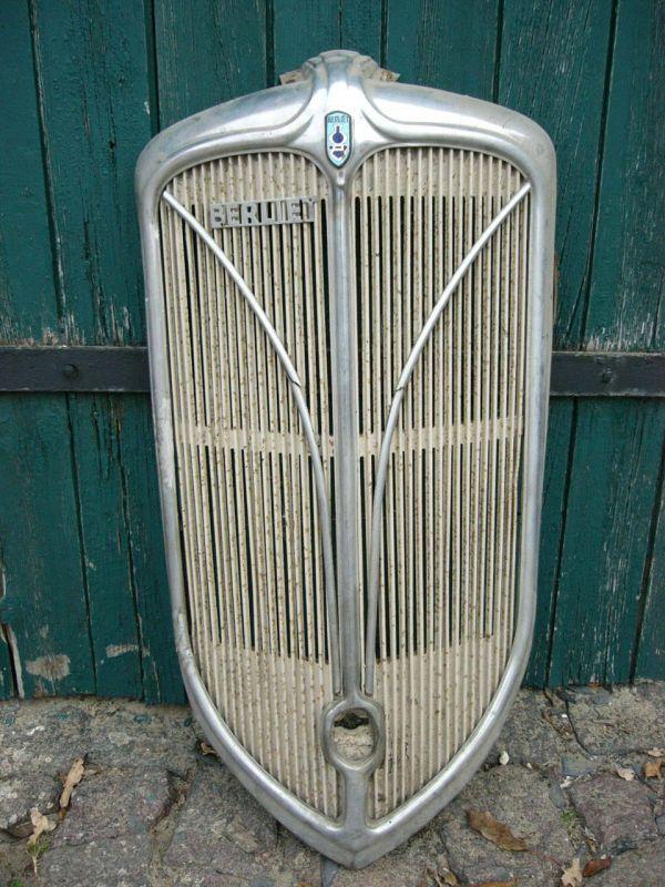 Berliet Kühler Grill mega selten aus den 1930 er Jahren