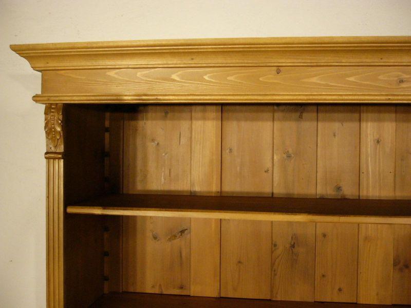 regal weichholz b cherwand jugendstil antik schrank um 1900 jhd nr 192764788537 oldthing. Black Bedroom Furniture Sets. Home Design Ideas