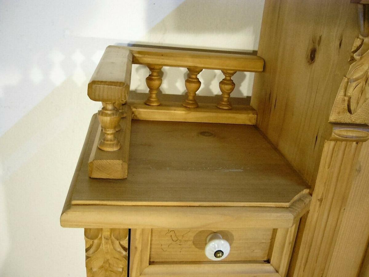 Sekretär Schreibtisch Weichholz Pult Schubladen fantastisch 6