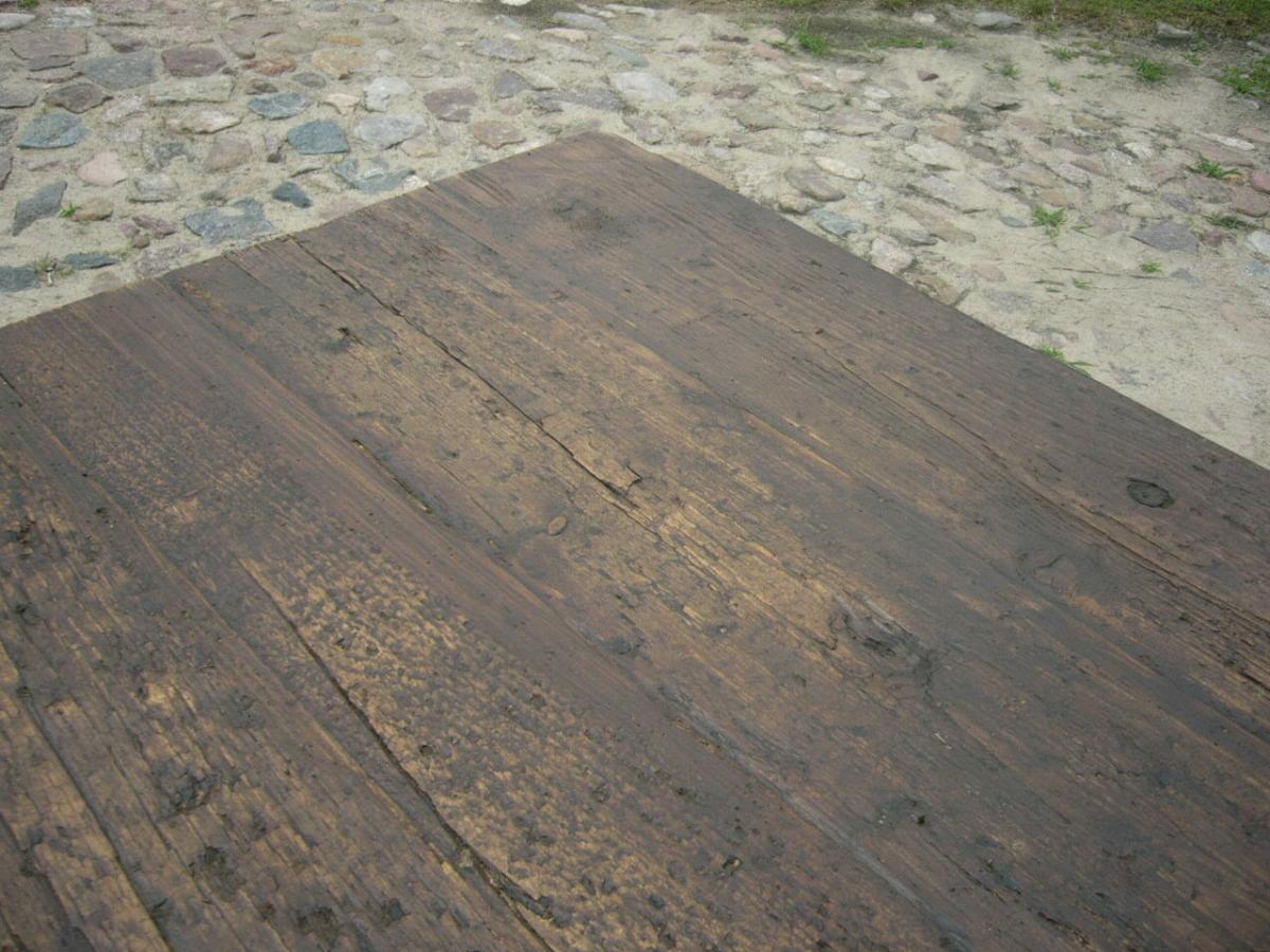 Tisch Gesindetisch antik aus Kloster Gründerzeit antik um 1880 Jhd. 11