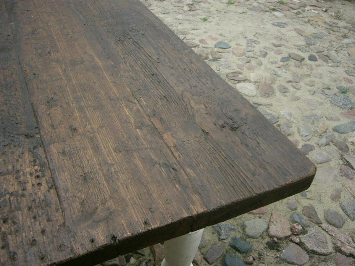 Tisch Gesindetisch antik aus Kloster Gründerzeit antik um 1880 Jhd. 3