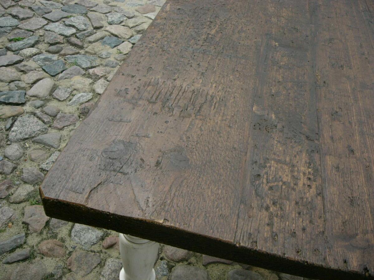 Tisch Gesindetisch antik aus Kloster Gründerzeit antik um 1880 Jhd. 4