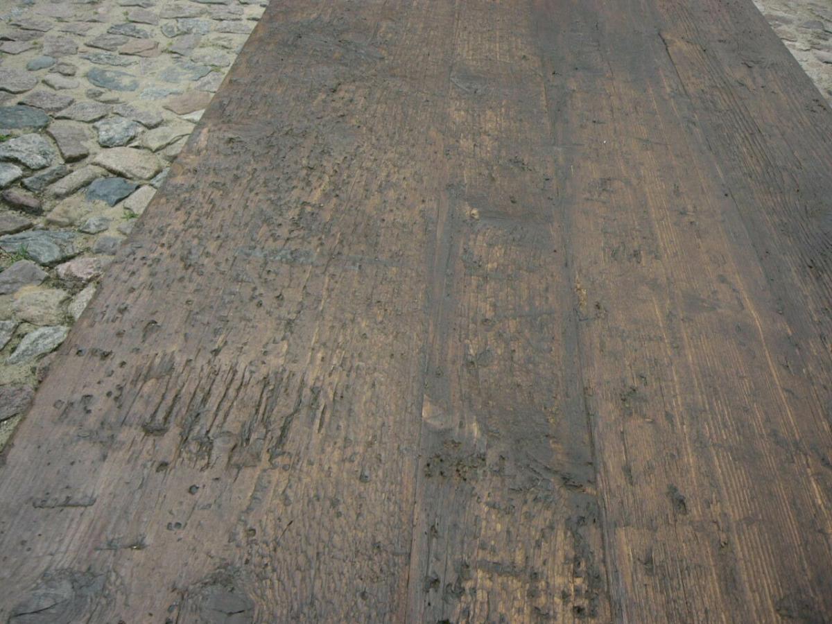 Tisch Gesindetisch antik aus Kloster Gründerzeit antik um 1880 Jhd. 5