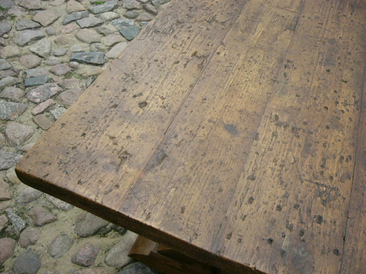 Klostertisch antik restauriert selten um 1850 Jhd. 4