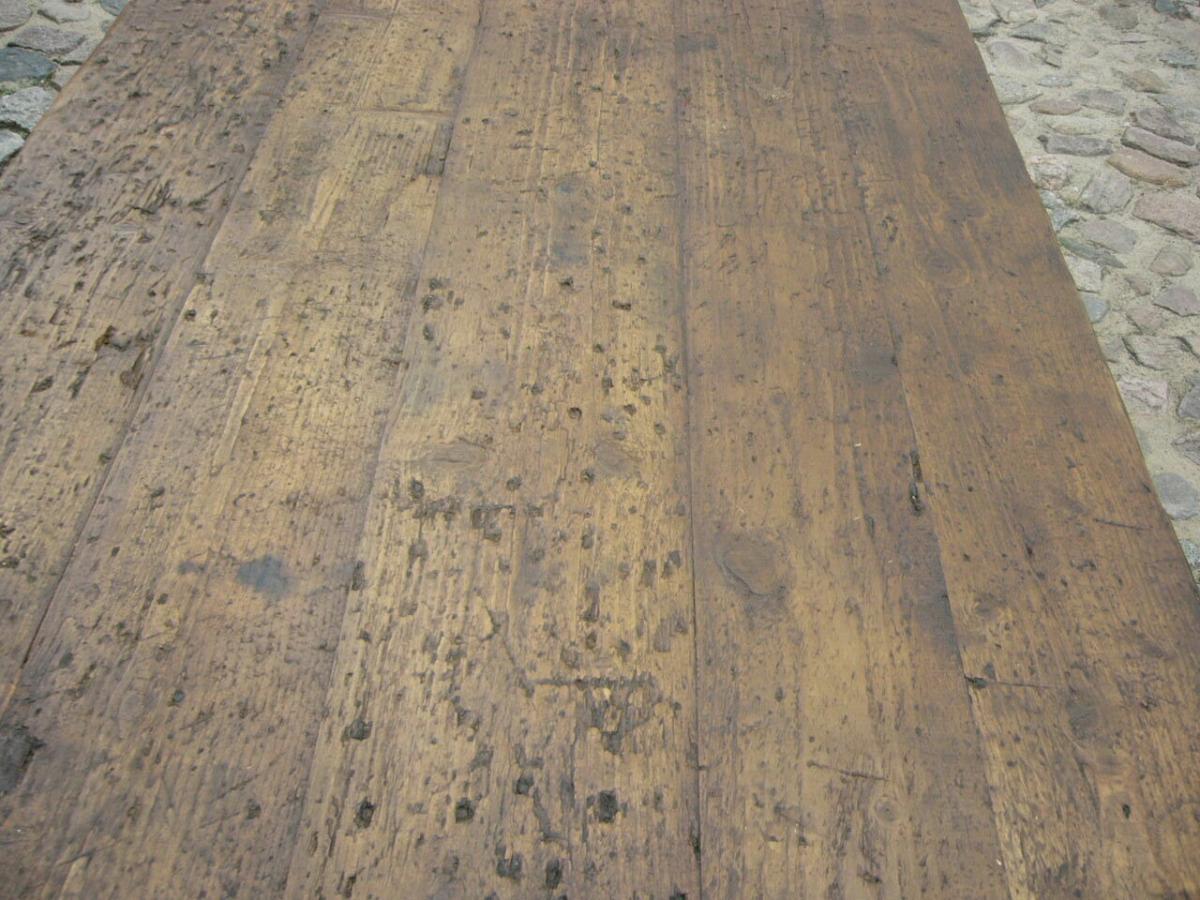 Klostertisch antik restauriert selten um 1850 Jhd. 5