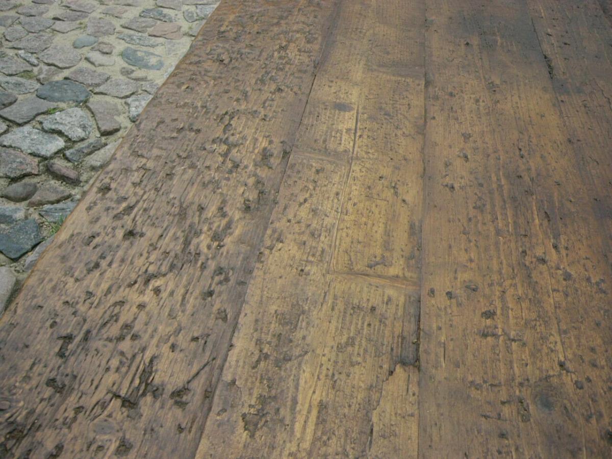 Klostertisch antik restauriert selten um 1850 Jhd. 8