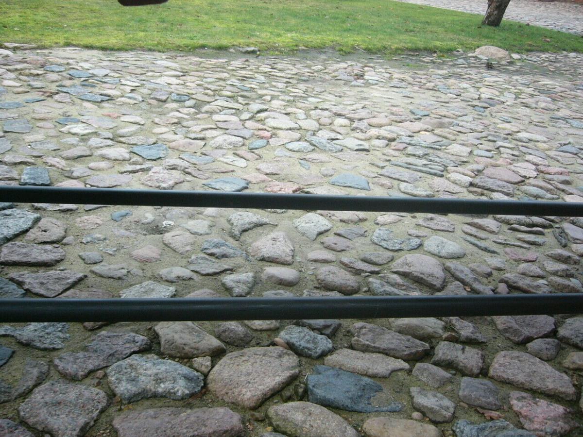 Tisch antik aus alter Schmiede zerlegbar 356,5cm lang um 1900 Jhd. 3
