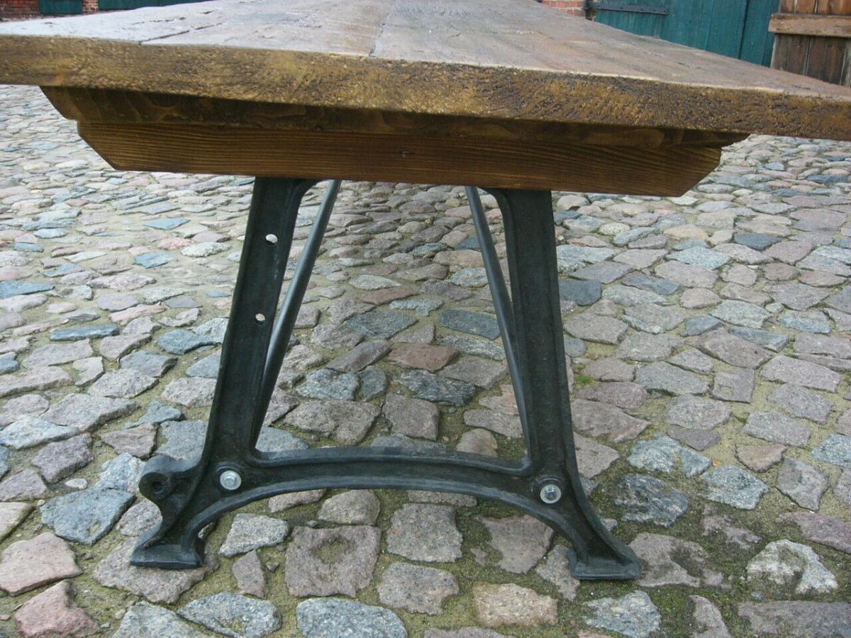 Tisch antik aus alter Schmiede zerlegbar 356,5cm lang um 1900 Jhd. 5