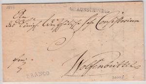 Braunschweig - Braunschweig (1809) + L1 FRANCO a. Brief n. Wolfenbüttel