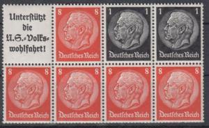 DR - Hindenburg Heftchenblatt 88 postfrisch/MNH