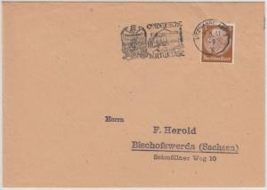 DR - Litzmannstadt 1941, Ostdeutsche Kulturtage, Masch.-werbestpl. a. Drucksache