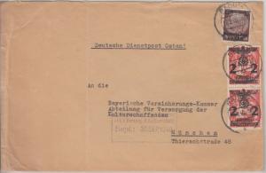 Gen.Gouv/Besetzung Polen - Mischfrankatur 1./2. Ausgabe Brief Radom München 1940