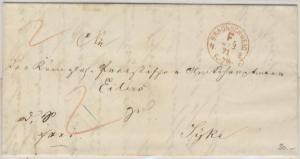 NDP - Braunschweig F. N2, Francostpl. a. Brief n. Syke 1871 - mit Inhalt