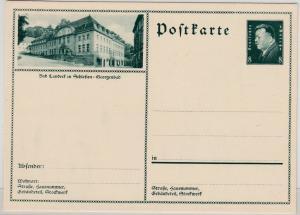 DR - 8 Pfg. Ebert Bild-GA-Karte (Bad Landeck, Georgenbad); ungebraucht