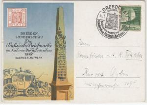 DR - Dresden 1938, Sonderschau