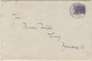 Österreich - Bahnpost Bruck a.d. Mur - Bischofshofen 67 Brief n. Linz 1934