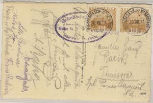 Österreich - Bahnpost Puchberg a.Sch. - Wr. Neustadt 226 Karte n. RUMÄNIEN 1931