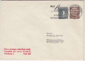 BRD - 6 Pfg. Heuss I u.a., Drucksache Nürnberg - Böblingen 1959