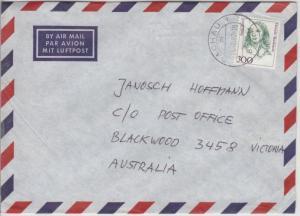 BRD - 300 Pfg. Frauen Lupo-Brief n. AUSTRALIEN, Berlin - Blackwood 1997