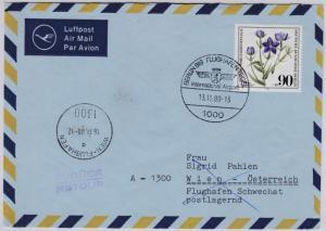 Berlin - 90 Pfg. Wofa, Lupo-Brief n. ÖSTERREICH 1981