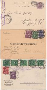 DR/BRD - Offenbach a/Main, Pöstchen v. 9 Heimatbelegen ex 1884-1981