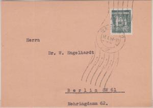 Berlin - 30 Pfg. Stadtbilder II Ortsbrief-Vds. (251-500g) SW11 1958