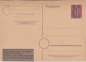 Österreich - 6 Pfg. AH Ganzsache Überdruck Aushilfsausgabe ungebraucht P310
