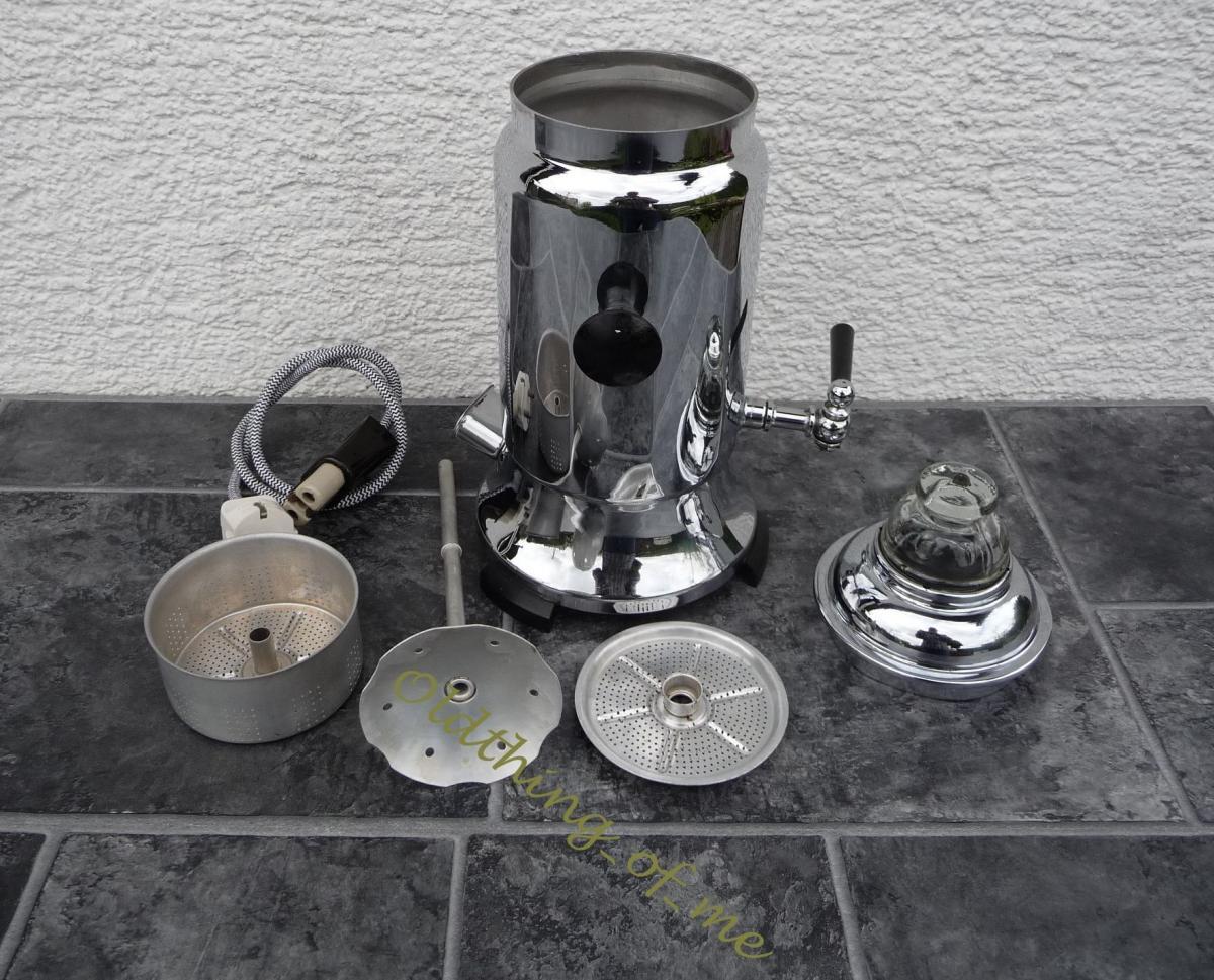 Samowar Teeaufbereiter Perkolator Kaffeemaschine  0