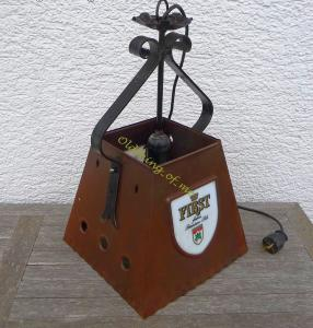 Thekenlampe Barlampe Dortmunder Ritter Bier Kupfer