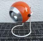 Kugellampe Tischlampe 70er Orange