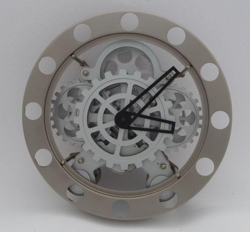 Wanduhr Zahnrad Uhr Round Gear Clock