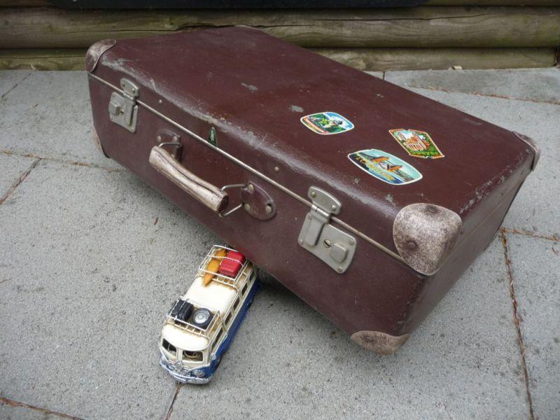 Alter kleiner Koffer shabby chic