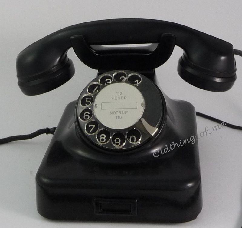 Telefon W48 schwarz will wieder telefonieren